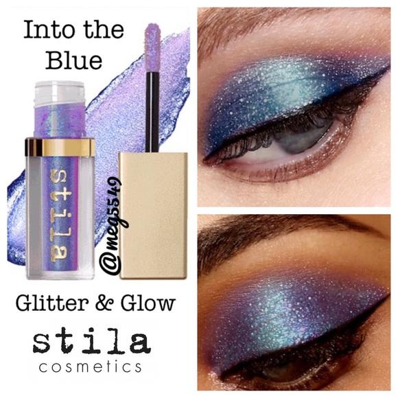 na stopach zdjęcia najtańszy jakość wykonania ✨Last one✨ Stila Glitter & Glow in Into the Blue NWT
